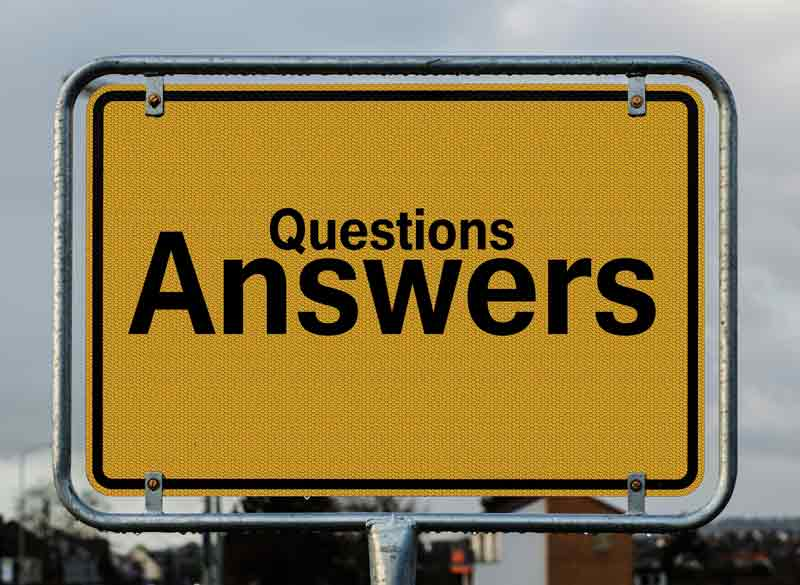Questions, answers.